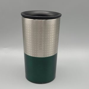 Starbucks 8 oz Stainless Steel Small Tumbler Green